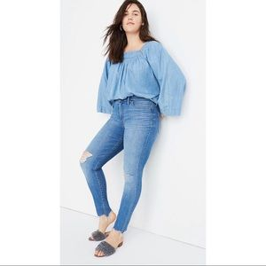 Madewell Mid-Rise Skinny Jeans in Frankie Wash